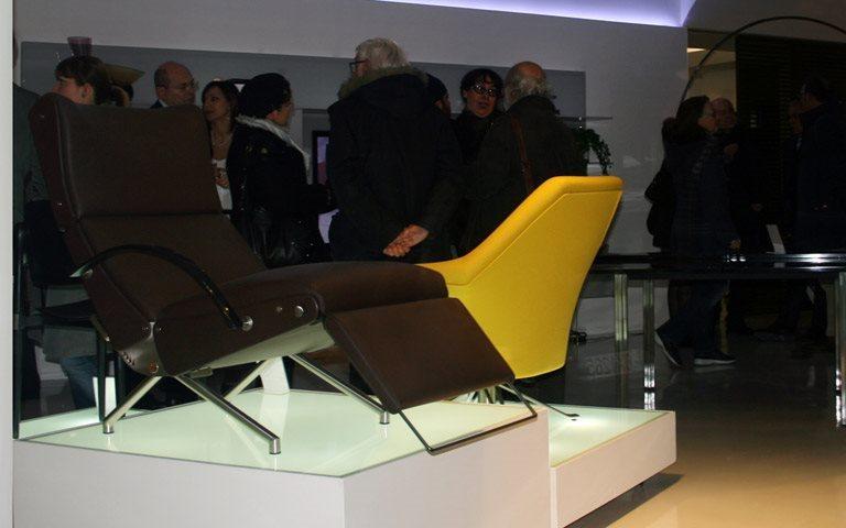 Tecno on display at Linee Contemporanee