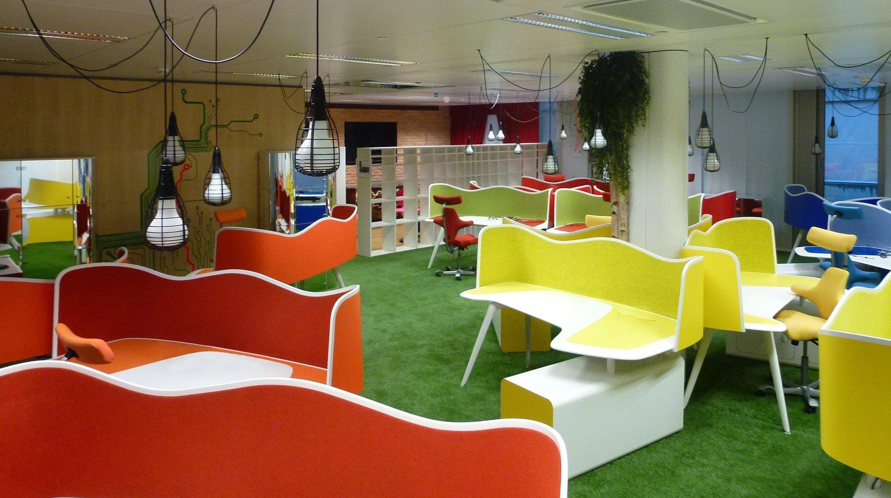 Tecno for philip morris for Design 4 office lausanne